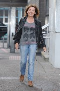 Lorraine Kelly -                      Outside ITV Studios London April 12th 2016.
