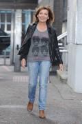 Lorraine Kelly -                      Outside ITV Studios London April 12th 2016.