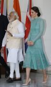 Duchess Kate Middleton -             Meeting With Indian Prime Minister Narendra Modi New Delhi April 12th 2016.