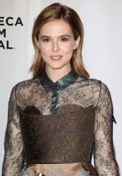 Zoey Deutch - 'Vincent N Roxxy' Premiere during 2016 Tribeca Film Festival 4/18/16