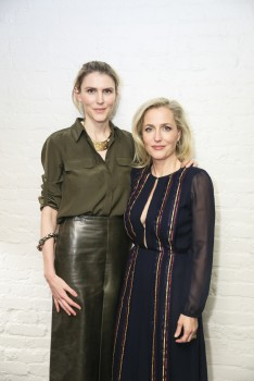 Gillian Anderson, Gabriela Hearst Dinner in Celebration of Gillian Anderson, NY, 18/04/2016 (LQ)