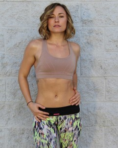 Briana Evigan in a sports bra 20th April 2015