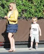 Hilary Duff - Out in LA 4/21/16