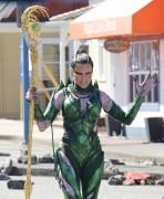 """Elizabeth Banks -                """"Power Rangers"""" Set Vancouver Canada April 25th 2016."""