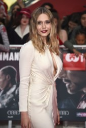 Elizabeth Olsen - 'Captain America: Civil War' Premiere in London 4/26/16
