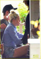 Miley Cyrus - Out in Byron Bay, Australia 4/30/16