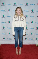 Chloe Grace Moretz - 'Neighbors 2: Sorority Rising' at 'Despierta America' in Miami 5/5/16