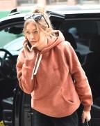 Gigi Hadid - Leaving a hotel in NYC 5/6/16
