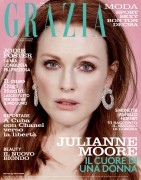 Julianne Moore -            Grazia Magazine (Italy) May 2016 David Roemer Photos.