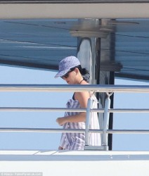 Katy Perry - Relaxing In Her Swimsuit On A Yacht - Cannes - May 16 2016 *ADDS*