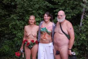 German couples having sex