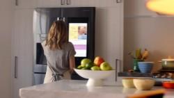 Kristen Bell in Samsung Family Hub x23