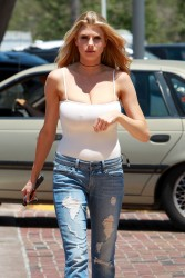 Charlotte McKinney Out in Malibu - 5/25/16
