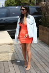 Kim Kardashian - Showing Off Her Curves At Nobu (5/28/16)