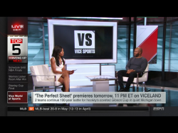 Cari Champion - ESPN SportsCenter - 5/31/2016