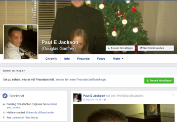 Forum Ubersicht Facebook Fake Profile Paul E Jackson Fb
