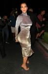 Kim Kardashian -  Form Fitting Dress Out in Encino (6/1/16)
