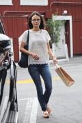 Jordana Brewster - Shopping in Los Angeles 6/2/16