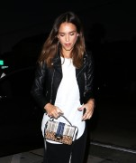 Jessica Alba - At Craig's in West Hollywood 6/2/16