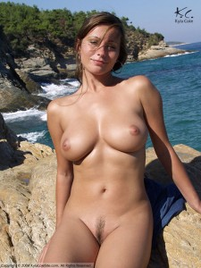 beach Kyla cole croatia