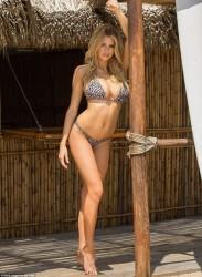 Charlotte McKinney Wearing a Bikini in Cabo San Lucas - 6/4/16