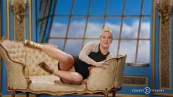 GLENDA: Amy schumer upskirt