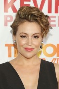 Alyssa Milano -   Trevor Live New York City June 13th 2016 With Judith Light.