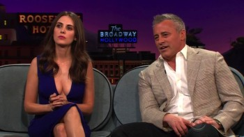ALISON BRIE - CLEAVAGE - The Late Late Show 06.14.16