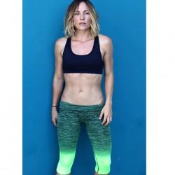 Briana Evigan in a sports bra Instagram 15th June 2016