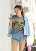 Bella Thorne por las calles de Los Angeles (15/6/16) 7d082c490014546