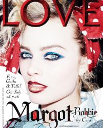 Margot Robbie - Love Magazine July 2016
