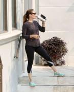 Jennifer Garner - Heading to the Gym in LA 6/16/16