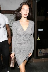 Bella Hadid - Leaving Madeo Restaurant in West Hollywood 6/17/16
