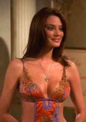 "April Bowlby - ""Two and a Half Men"" Caps"