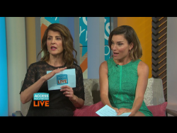 Nia Vardalos - Access Hollywood Live - 06/17/2016