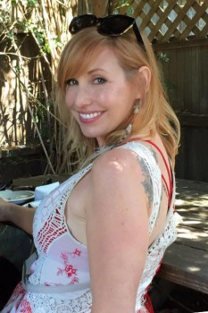 Kari Byron | Showing Off New Tattoo | Social Media | May 2016