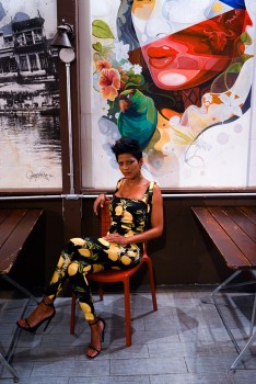 TAMRON HALL *photoshoot*