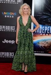 Maika Monroe - Premiere Of 20th Century Fox's 'Independence Day: Resurgence', TCL Chinese Theatre, Hollywood 6/20/16
