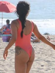 Christina Milian - Hits The Beach In Malibu (6/21/16)