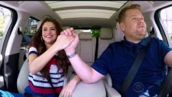 Selena Gomez in Carpool Karaoke on The Late Late Show with James Corden stills x47