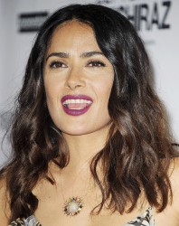 "Salma Hayek - Premiere of Momentum Pictures' ""September Of Shiraz"" at the Museum of Tolerance in Los Angeles - (6/21/16 )"