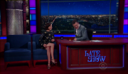 Aubrey Plaza @ The Late Show with Stephen Colbert | June 21 2016