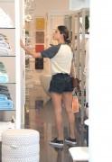 Alessandra Ambrosio - In Shorts Shopping in Santa Monica 6/21/16