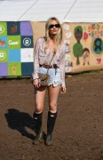 Laura Whitmore -                     Glastonbury Festival Pilton (UK) June 24th 2016.