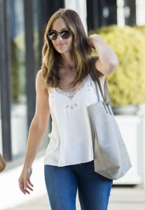 Minka Kelly -  Out and About in West Hollywood 06-23-2016