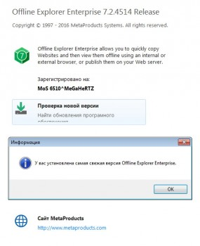 MetaProducts Offline Explorer Enterprise 7.2.4514 Portable (Multi/Ru)