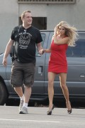 "Charlotte McKinney - On set of ""Literally Right Before Aaron"" in LA 6/27/16"
