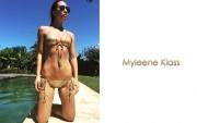 Myleene Klass : One Hot Bikini Wallpaper