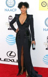 Tracee Ellis Ross - 2016 NCAAP Image Awards Arivals (2/5/16)