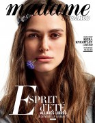 Keira Knightley -                         Madame Figaro Magazine (France) July 2016  Paul Maffi Photos.